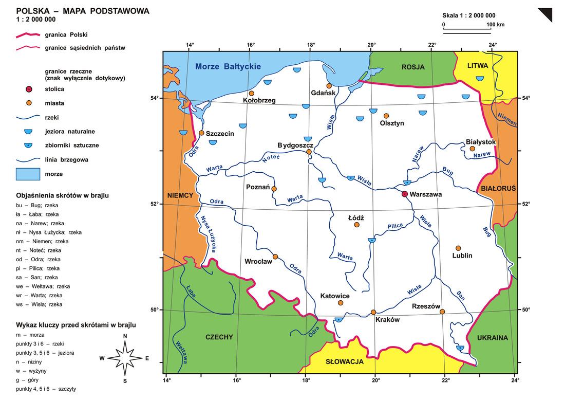 P1 Mapa Podstawowa
