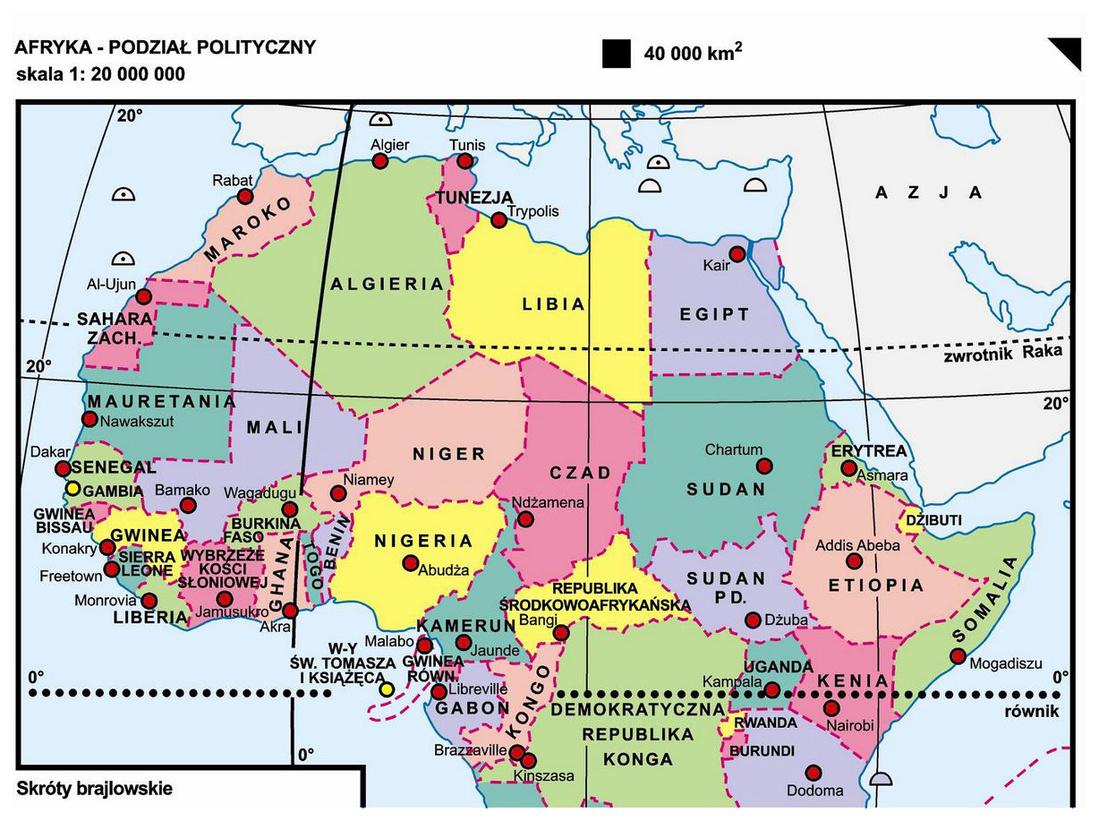 29 Afryka Podzial Polityczny